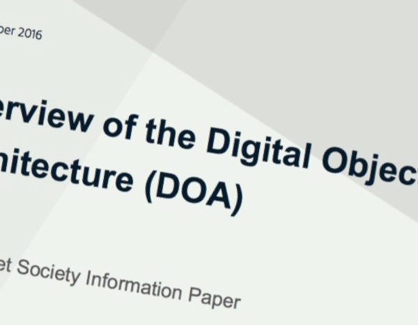 What is the Digital Object Architecture (DOA)? Read our new information paper.