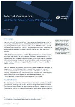 Internet Governance - cover thumbnail