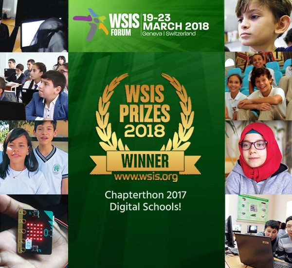 Chapterthon Wins 2018 WSIS Prize for International and Regional Cooperation