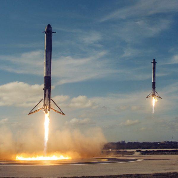 La nouvelle course vers l'espace pourrait faire rayonner le haut débit partout